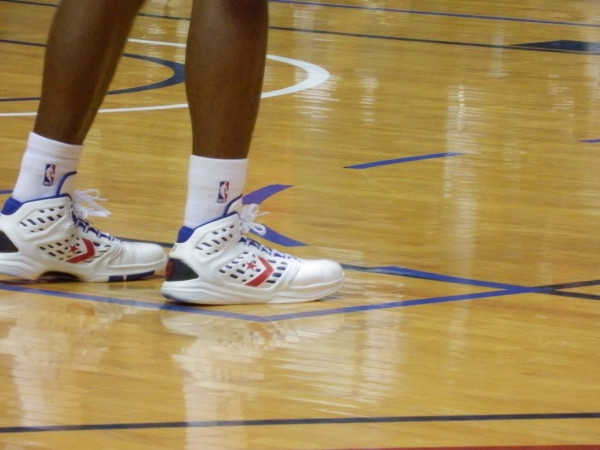 Sneaker Pics of Yesterdays Battle of I-95 Basketball Game