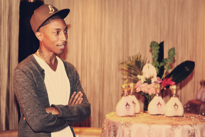 Pharrell Celebrates Launch Of Qream Liqueur In ATL (Video)