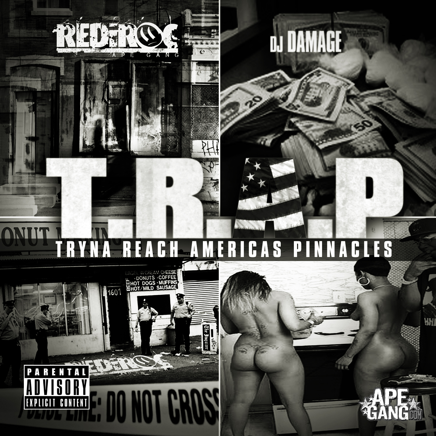 REDiROC (@Rediroc215) – T.R.A.P. [TRYNA REACH AMERICAS PINNACLE] Hosted by @DJfnDamage