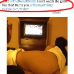 Tahiry Responds To New York Knicks Player J.R. Smith Twitpic'ing Her Ass (Video)