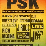 July 3rd PSK 2012 line up announced, DJ Drama, Jazzy Jeff, J Rocc, Rich Medina, Questlove and Friends