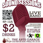 #PhillySoundSessions Oct 2nd @TheArtsGarage Hosted by @SONGWRITASMARIE Feat @YufiZewdu @VixionAllure