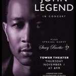 John Legend Live In Concert Nov 1st at The Tower Theater