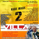 Kick Back 2 Jan 20th Presented By : Mont Brown (@MontBrown) & Pace-O Beats (@PaceoBeats) Details Inside