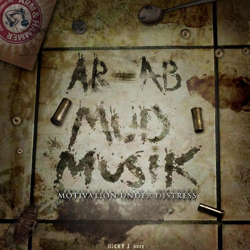 AR AB Mud Musik motivation Under Distress front cover mixtape artwork philly obh HHS1987 2013 AR AB Talks Mud Muzik Mixtape, Song with Trae Tha Truth, Production & Names All The OBH Members (Video)