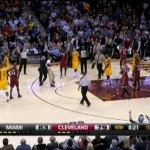 Cavs Fan Rushes On Court To Tell Lebron Cleveland Misses Him (Video)