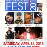 Gucci Mike (@Guccimik3) & DJ Cosmic Kev (@DJCosmicKev) Present: Spring Fest 2013 (April 13, 2013)