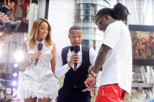 ace hood talks about his 60000 watch malfunction at the bet awards HHS1987 2013 Ace Hood Talks About His $60,000 Watch Malfunction at the BET Awards