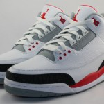 Air Jordan 3 Retro (Fire Red) (Release 8-3-13)