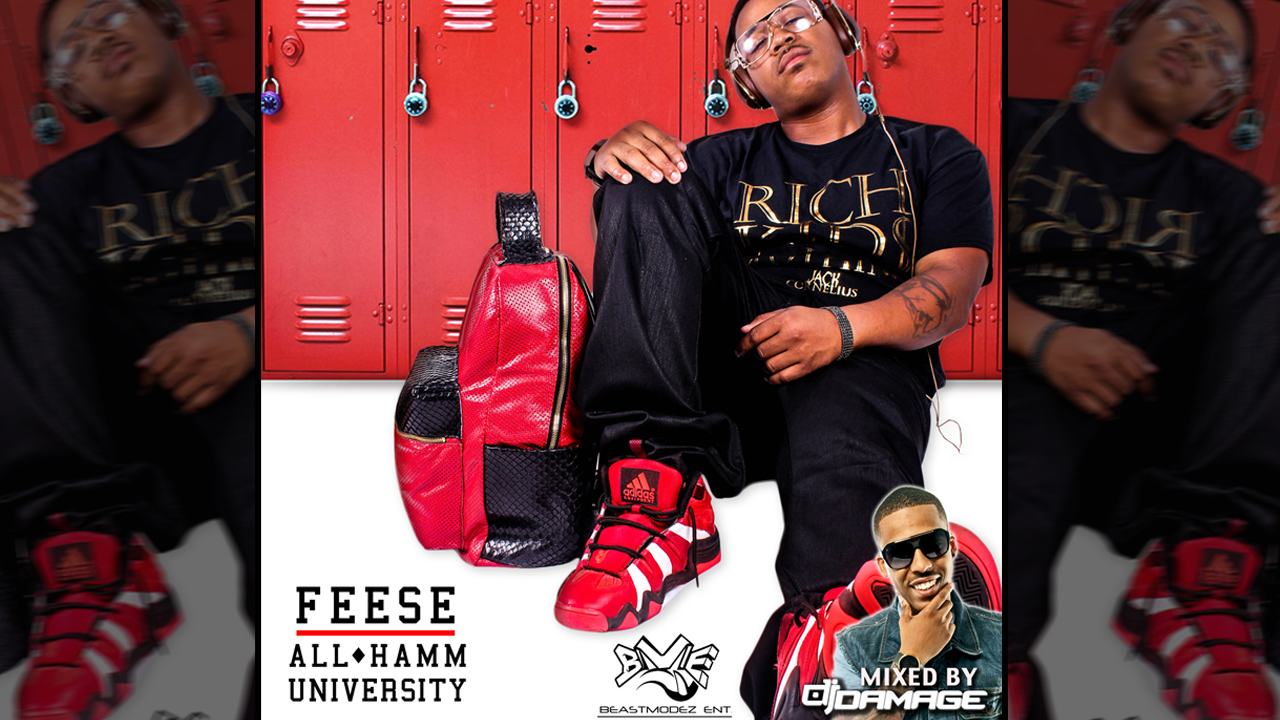 ALL HAMM UNIVERSITY online cover Feese   All Hamm University (Mixtape)