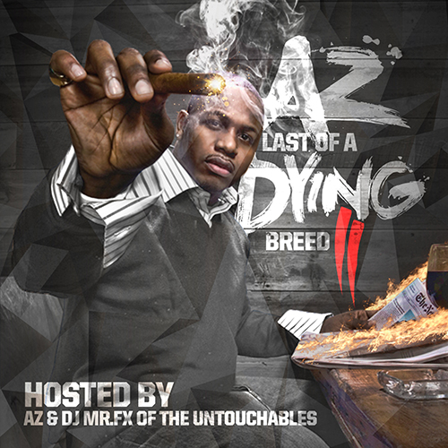 AZ Last Of A Dying Breed Ptii Lodb2 front large AZ – Last Of A Dying Breed II (Mixtape)