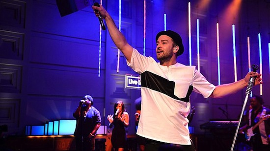 JTonHHS1987 Justin Timberlake – Shake Your Body X Live At BBC Radio 1 (Video)