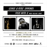 Genius x Verse Simmonds – Fvcks With U (Trailer) (Video) + (Video Release Event Details)