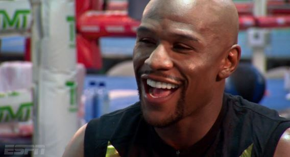 floydmayweatherHHS1987 Floyd Mayweather Tells ESPN He Has $123 Million In One Of His Bank Accounts (Video)