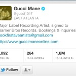 Gucci Mane Deletes His Twitter Account