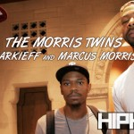 The Morris Twins Talk Giving Back, NBA, Kansas, Philly & more (Video)