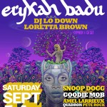 One Music Fest Adds Erykah Badu aka DJ Lo Down Loretta Brown To The One Music Fest 2013 Lineup