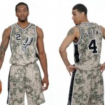 Ready For Battle: The San Antonio Spurs Reveal Their New Camo Uniforms (Photo)