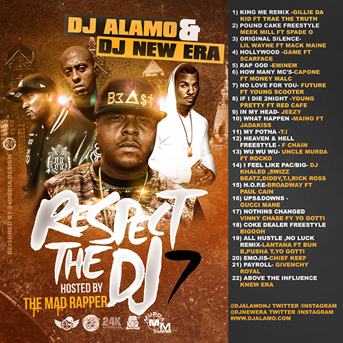 rtdj7 DJ Alamo & DJ New Era   Respect The DJ 7 (Mixtape) (Hosted by The Mad Rapper)