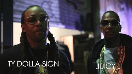 287lliu Ty Dolla $ign – Ratchet In My Benz Ft. Juicy J (BTS) (Video)