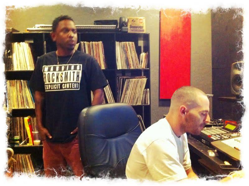 Kendrick Lamar & Alchemist In The Studio