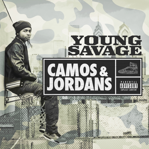 Camos and Jordans front cover Young Savage   Camos & Jordans EP