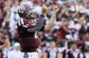 Movin' On Up: Texas A&M QB Johnny Manziel Will Enter the NFL Draft