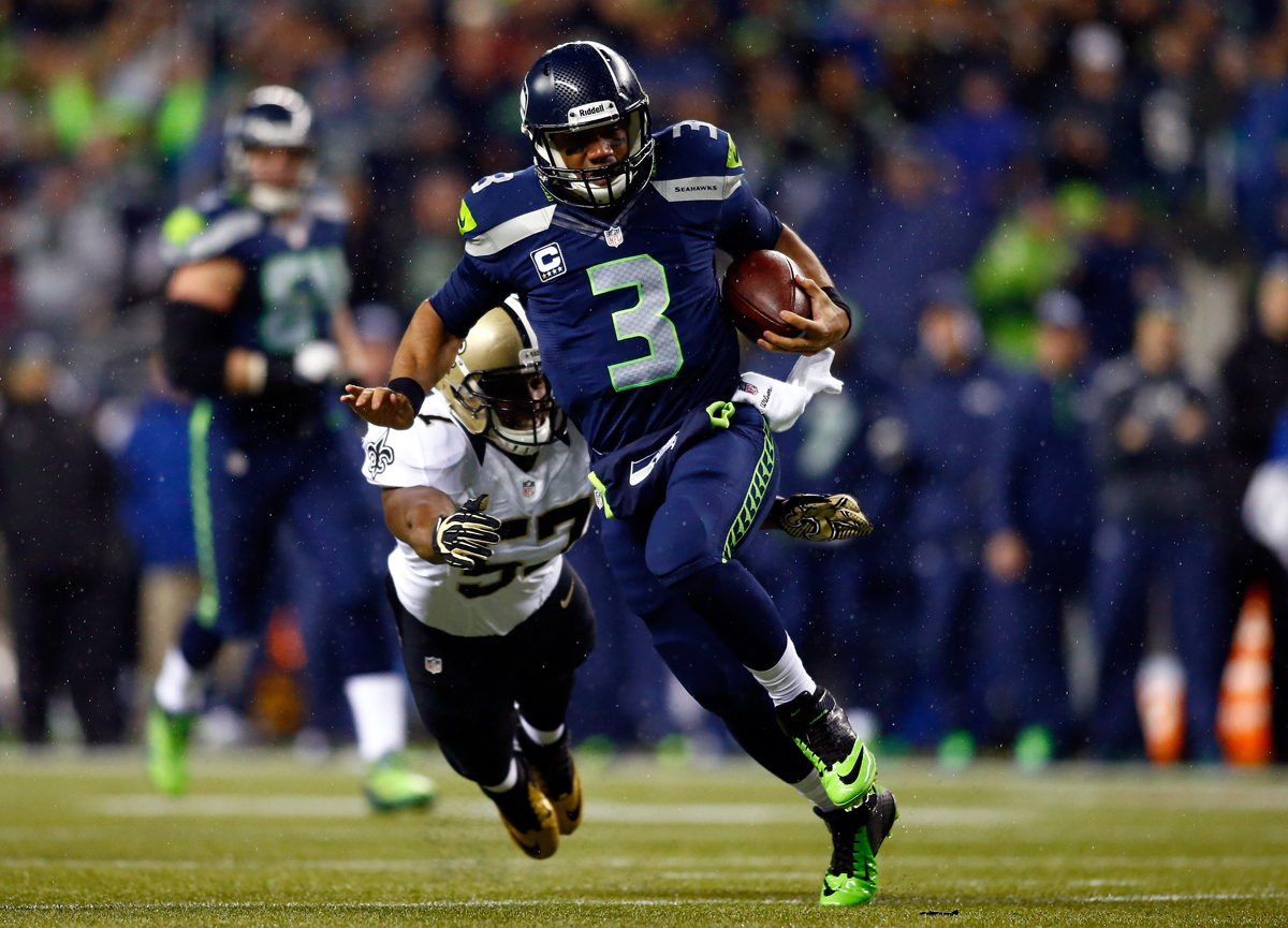 AFP Getty 453183427 NFC Divisional Playoffs: New Orleans Saints vs. Seattle Seahawks (Predictions)