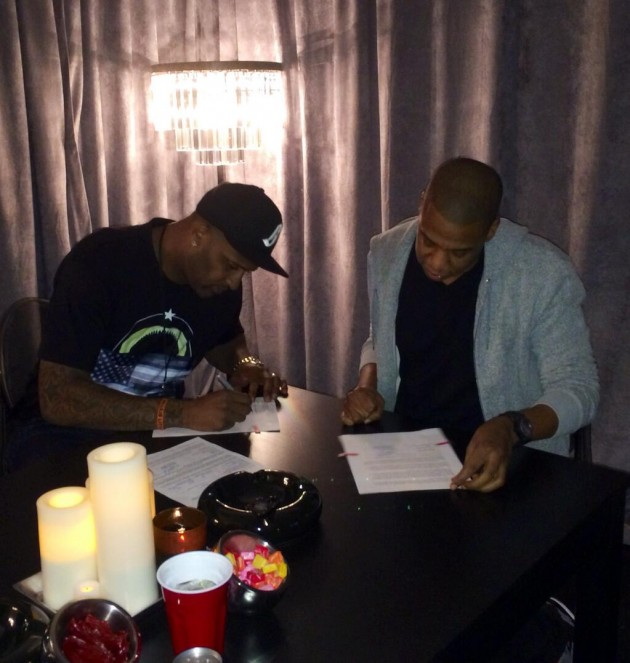 BeJJVTCCEAA iI  630x663 Jay Z Adds Yankees Pitcher CC Sabathia To His Roc Nation Roster