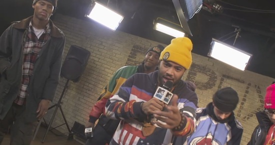 BnmF1BA Pro Era   MTV RapFix Freestyle (Video)