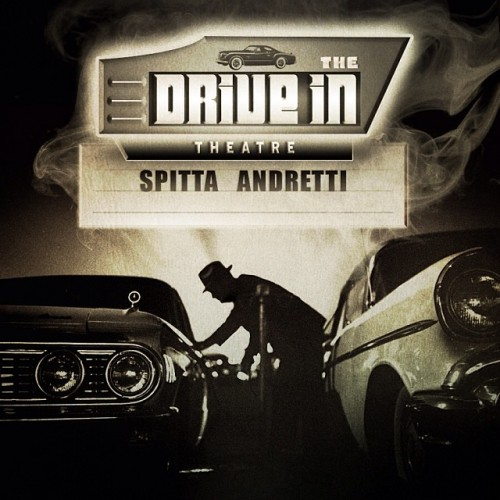 "Curren$y ""The Drive In Theatre"" artwork"