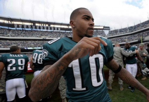 Eagles wide receiver, DeSean Jackson