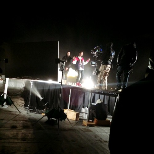 Drake Wu Tang Forever 3 Drake & A$AP Rocky In Harlem For Wu Tang Forever (Remix) Video Shoot