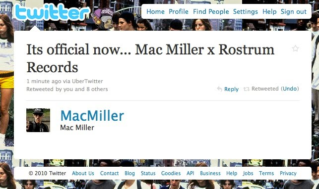 Mac Miller Record Deal TheMaskedGorilla.com  Mac Miller Leaves Rostrum Records & Becomes A Free Agent