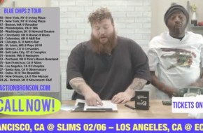 Action Bronson – Blue Chips 2 Tour (Trailer) Ft. Donnell Rawling