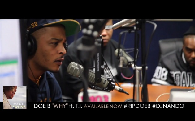 Screen shot 2014 01 17 at 11.38.58 AM 630x393 1 T.I. Opens Up About Doe B & DJ Nando With DJ Greg Street (Video)
