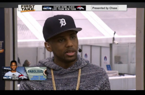 Fabolous Joins Stephen A. Smith & Skip Bayless on ESPN's First Take (Video)