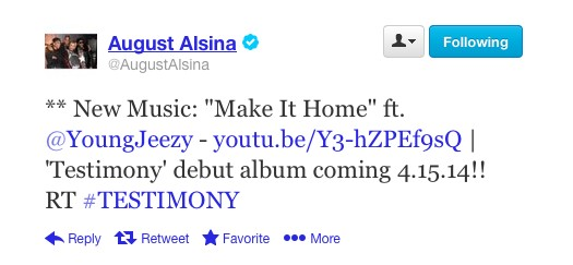 """August Alsina Announces A Release Date For """"Testimony,"""" His Debut Album"""