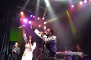"Diddy & Faith Evans Perform ""I'LL Be Missing You"" In LA (Video)"
