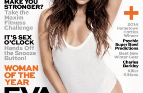 Eva Longoria Covers Maxim's First Issue Of The New Year (Photo)