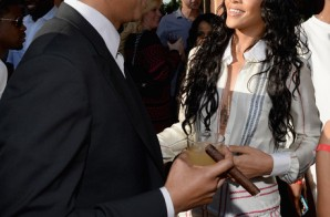 jay z rihanna meek mill j cole wale dj mustard more attend roc nations 2014 pre grammy brunch photos HHS1987 2014 31 298x196 Jay Z, Rihanna, Meek Mill, J. Cole, Wale, DJ Mustard & more Attend Roc Nations 2014 Pre Grammy Brunch (Photos)