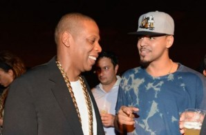 Jay Z Blesses J. Cole With His Original Roc-A-Fella Chain (Video)