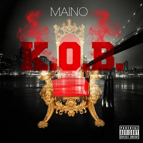 maino king of brooklyn ep cover tracklist 2014 HHS1987 Maino – King Of Brooklyn EP (Cover + Tracklist)