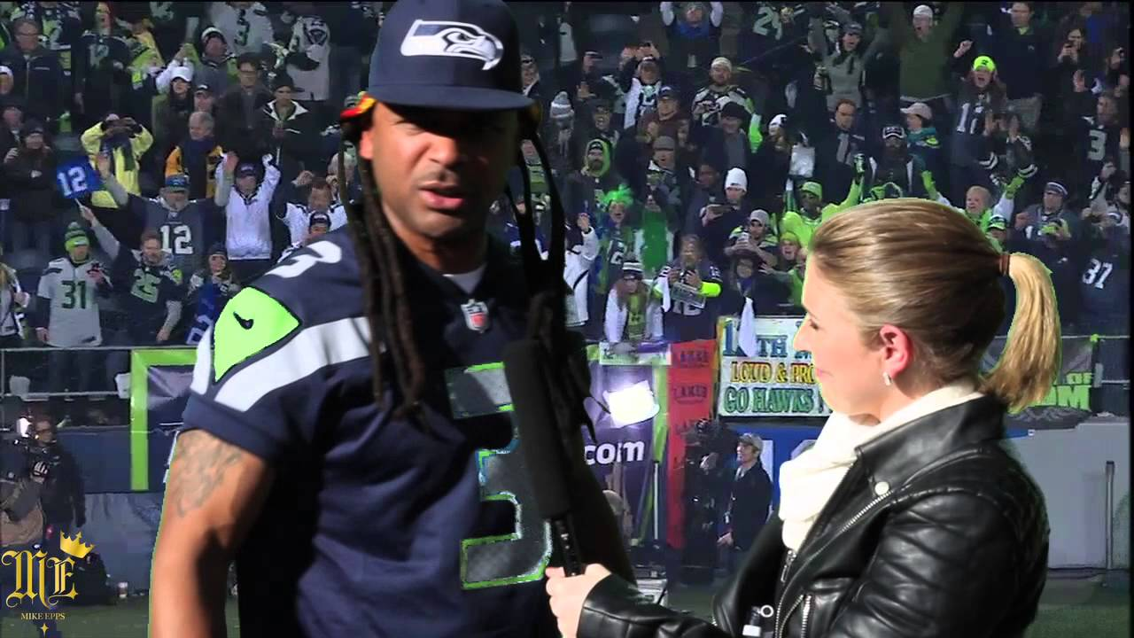 maxresdefault3 Mike Epps   Richard Sherman Post Game (Video)