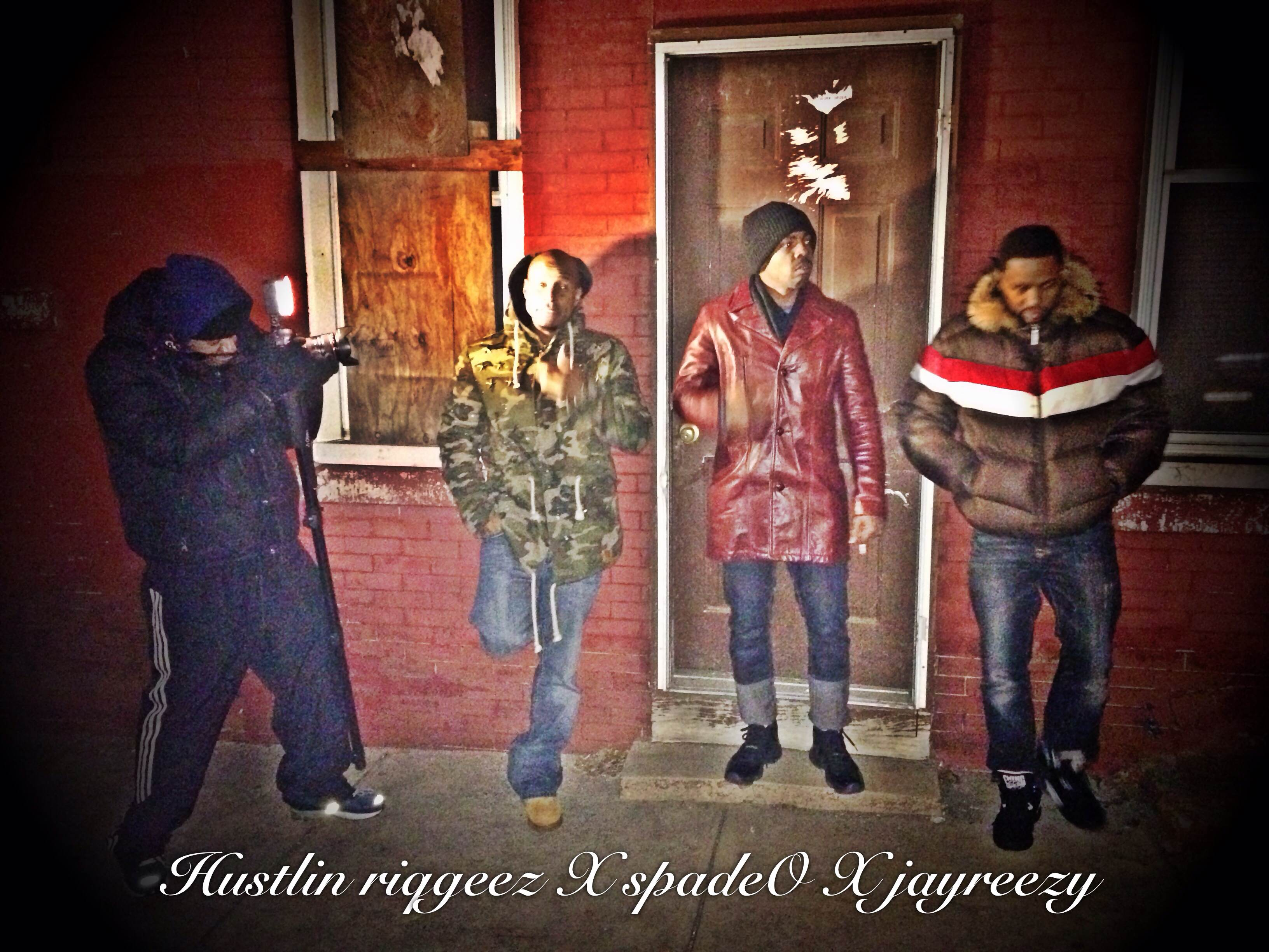 photo2 Riq Geez   Hustling Ft. Jay Reezy & Spade O (Behind The Scenes Video)