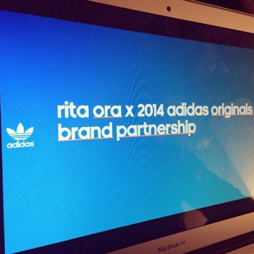 rita ora adidas originals partnership  500x500 Rita Ora Inks Deal With Adidas Originals
