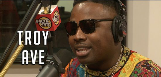 troyavefmf Troy Ave   Funkmaster Flex Freestyle (Video)