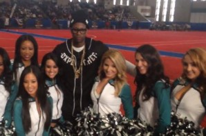 2 Chainz & Nelly At Celebrity Flag Football Game In New Jersey (Video) (Shot By Nati Celebs)