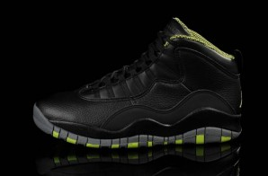 "Air Jordan 10 ""Venom Green"" (Photo & Release Date)"