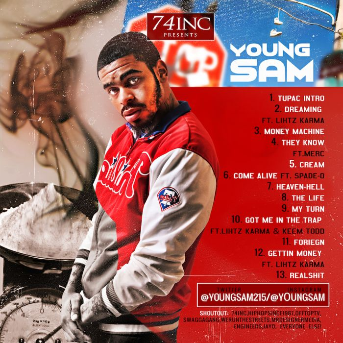 IMG 0552 Young Sam   A Dollar & A Dream (Mixtape)